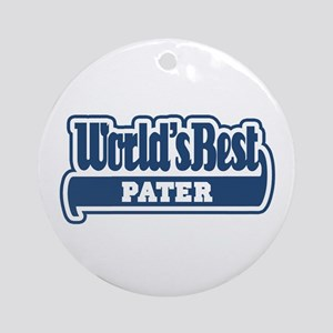 WB Dad [Latin] Ornament (Round)